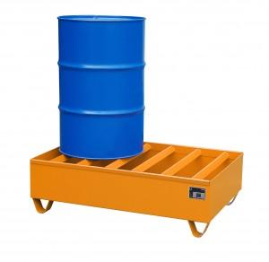 Lagerung von 200-Liter Fässern – das typische ...