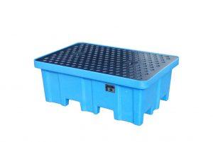 Kunststoff-Auffangwanne (PE) WPA-PE 2/2 für 200-l-Fässer
