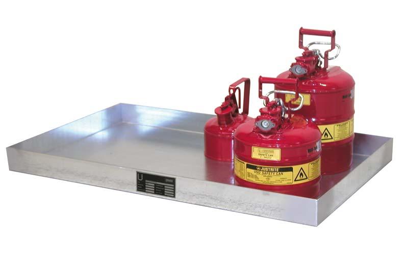 V4A-Edelstahl-Auffangwanne für Kleingebinde KGW-2