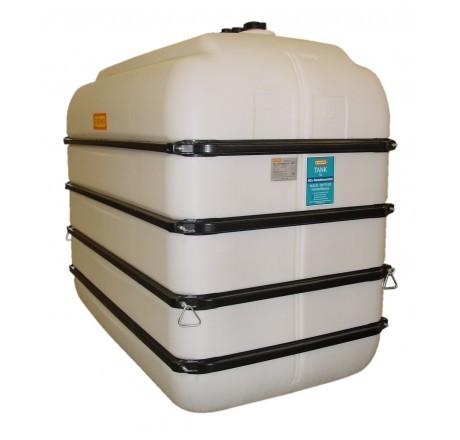 PE-Bandagentank Basic, Tank ohne Zubehör 5000-Liter