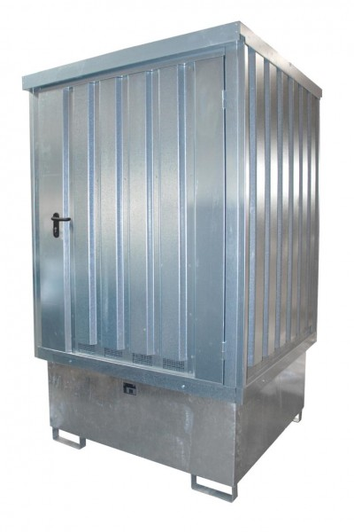 Gefahrstoff-Depot Typ GD-E-IBC - Verzinkt