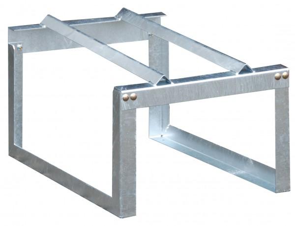 Modul 4 - verzinkte Fassauflage für 1 200-L-Fass