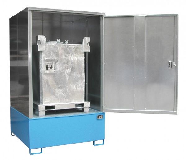 Gefahrstoff-Schrank Typ GS-4 für 1 x 1000-l-IBC