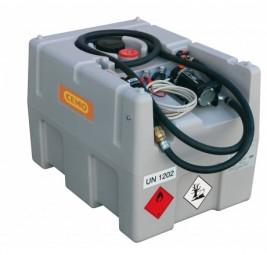 Cemo Diesel-Tankanlage DT-Mobil Easy 200-Liter mit Elektropumpe 12 V und Automatik-Zapfpistole