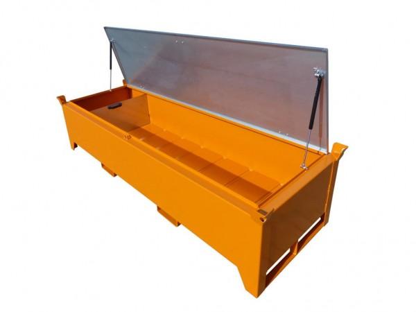Leuchtstoffröhren-Box Typ SL-N-220 - gelborange RAL 2000