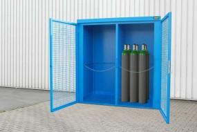 Gasflaschen-Depot GFC-B-M1 (fertig montiert)