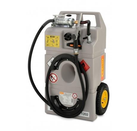 Dieseltrolley 100 Liter mit Handpumpe und Zapfventil