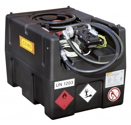 KS-Mobil Easy 190-Liter mit Elektropumpe 230 Volt, ATEX und Automatik-Zapfpistole