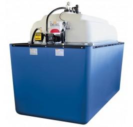Cemo PE/GFK-Komplettstation 5000-Liter Indoor mit Auffangwanne