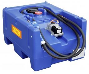 Cemo Blue-Mobil Easy 125-Liter AdBlue® Tankanlage mit Tauchpumpe, Automatik-Zapfventil und Akku