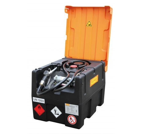 KS-Mobil Easy 190-Liter mit Elektropumpe, ATEX, Automatik-Zapfpistole und Klappdeckel