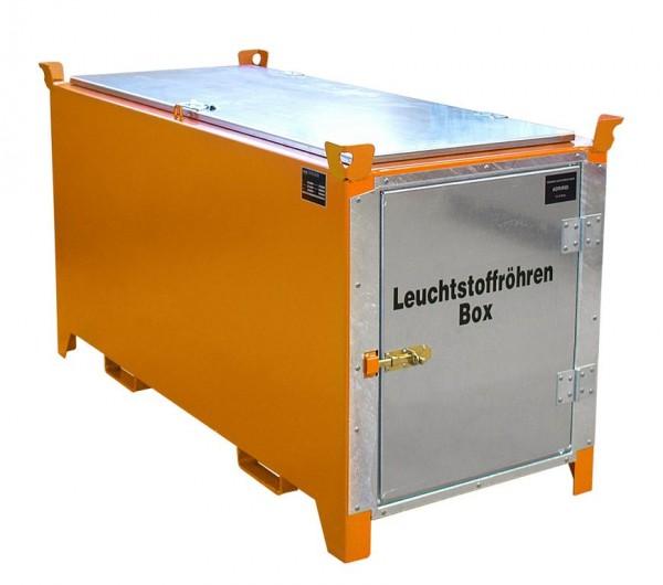Leuchtstoffröhren-Box Typ SL-D-200 - gelborange RAL 2000