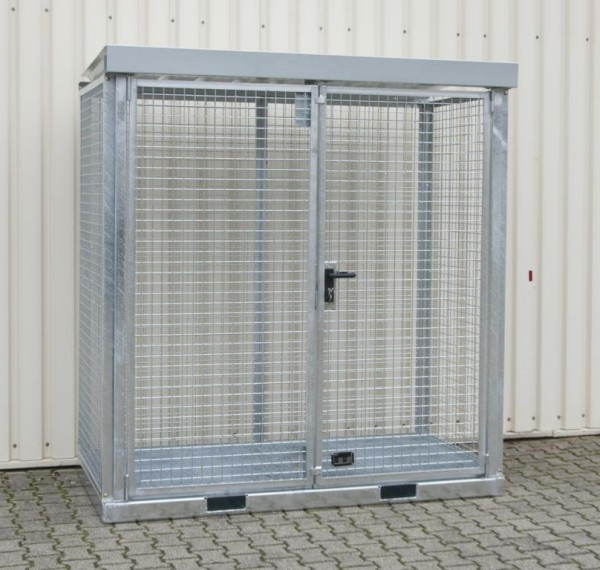 Gasflaschen-Container Typ GFC-E-G-M-1