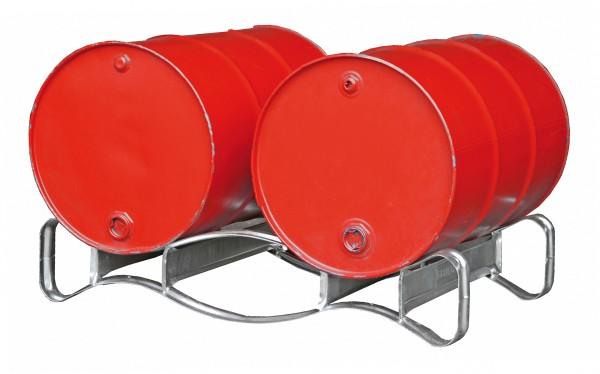 Fasspalette Typ FP-2 für 2 x 200-l-Fässer
