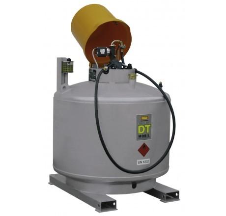 DT-Mobil 980-Liter einwandig, lackiert mit Pumpenhaube (Abbildung ähnlich)