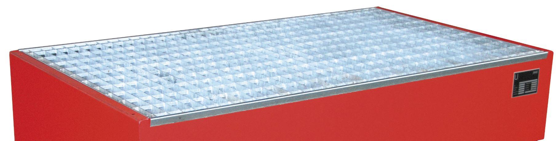 Modul 1 - Gitterrost mit Auflagen f. modulare Auffangwanne MAW