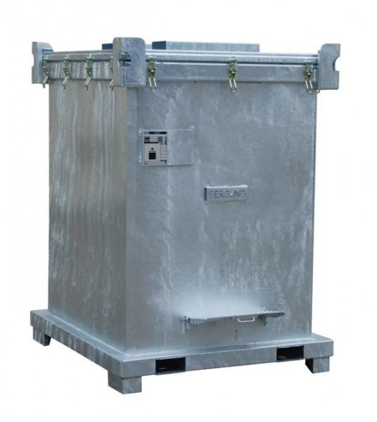 Bergungsgrossverpackung Typ SAG 2700