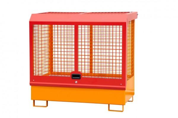 Gefahrstoff-Lager Typ GD-C - gelborange RAL 2000