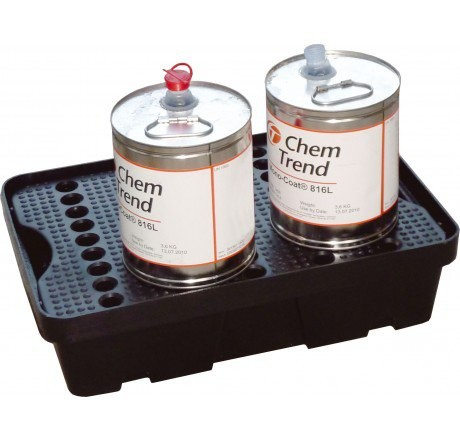 PE-Laborwanne 20-Liter mit PE-Rost