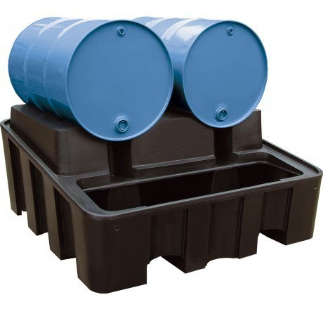 Abfüllstation aus PE 450-Liter Auffangvolumen