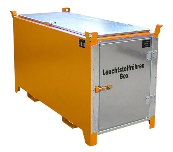 Leuchtstoffröhren-Box Typ SL-D-150 - gelborange RAL 2000