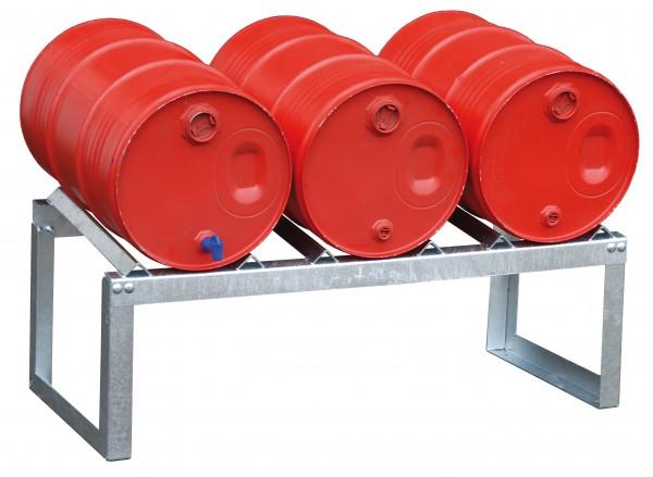Fassauflage FA 60-3 für 3 x 60-l-Fässer
