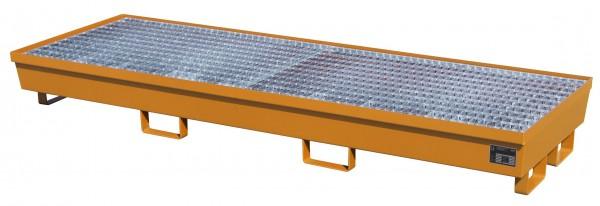Auffangwanne mit Gitterrost AM-4/B - RAL 2000