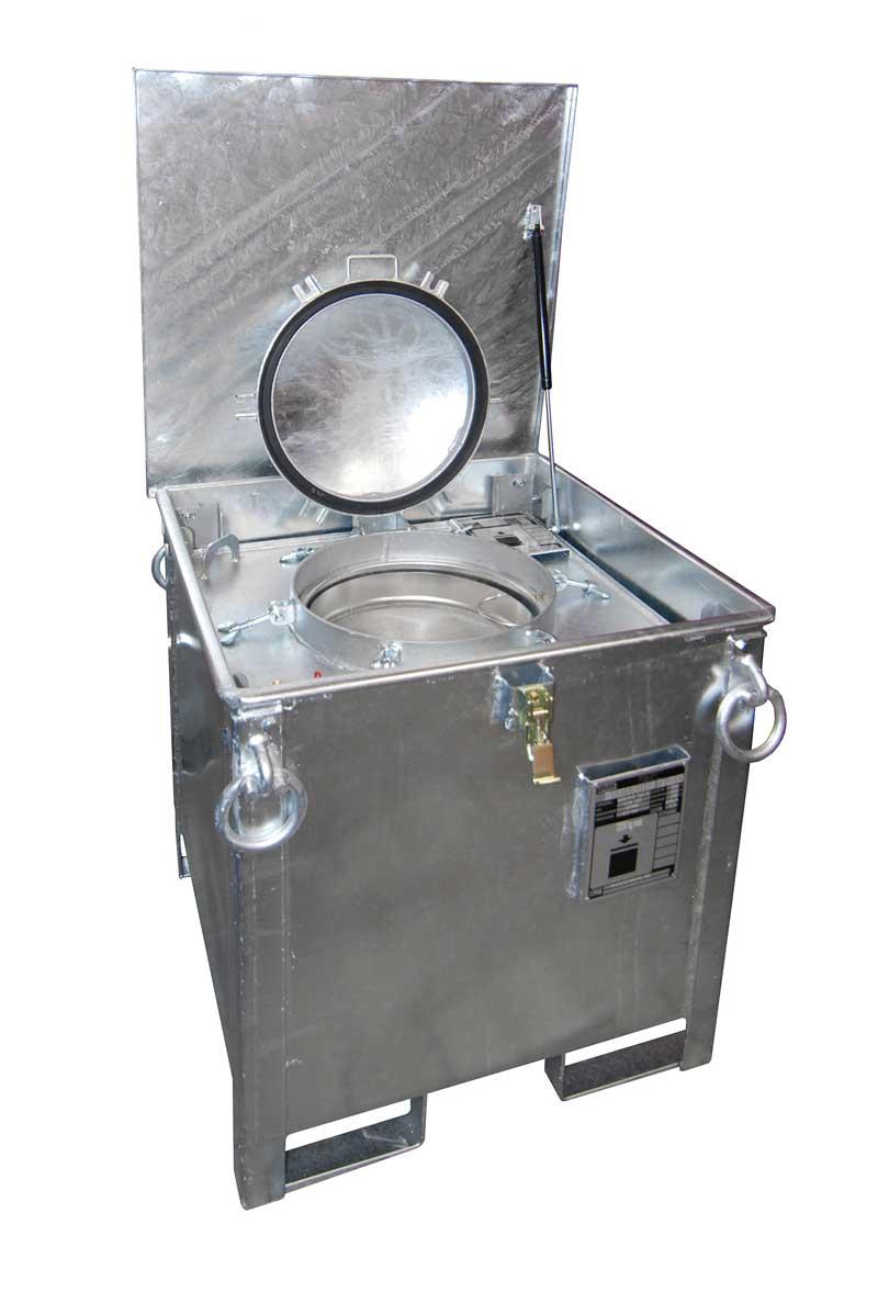Gefahrstoff-Sammelbehälter ASB-250 / Sonderabfallbehälte