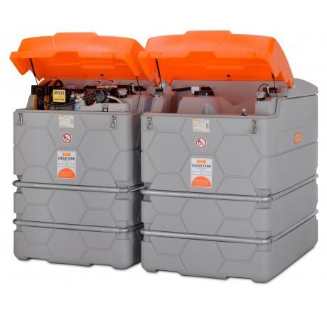 CUBE-Dieseltankanlage 5000 Liter