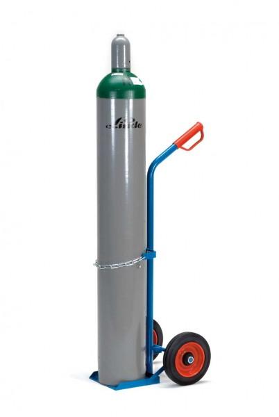 Fetra Gasflaschenwagen für 1 Stahlflasche Ø 204-229 mm