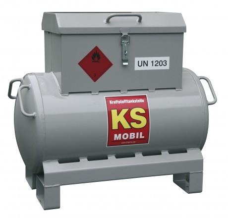 KS-Mobil 90-Liter mit Handpumpe 25 l/min