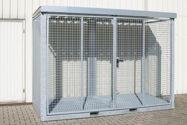 Gasflaschen-Container Typ GFC-E-G-M-4