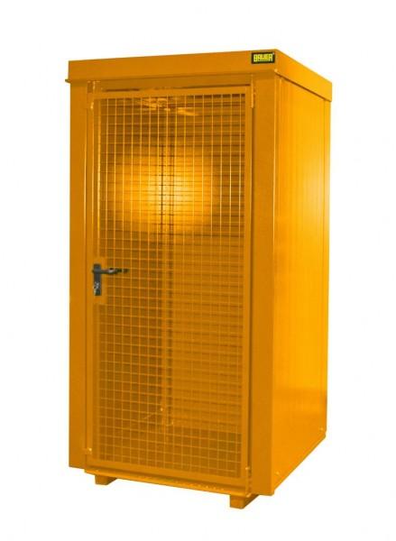 Gasflaschen-Container Typ GFC-B-M0 - gelborange RAL 2000