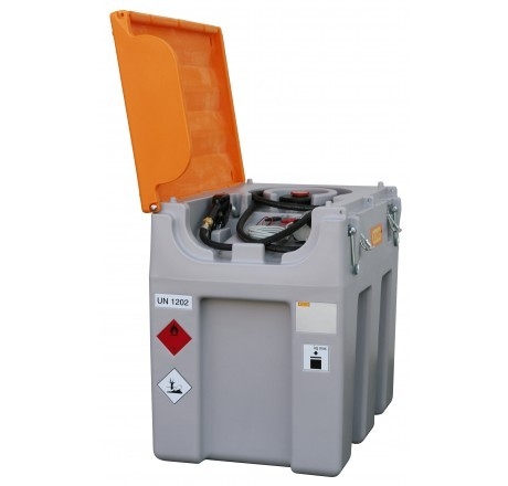 DT-Mobil Easy 600-Liter mit Elektropumpe, Automatik-Zapfpistole und Klappdeckel