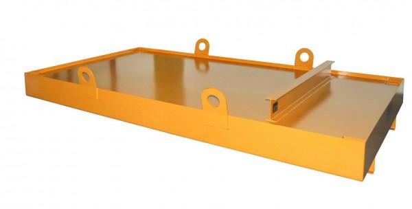 Containerwanne Typ CW-3 - gelborange RAL 2000