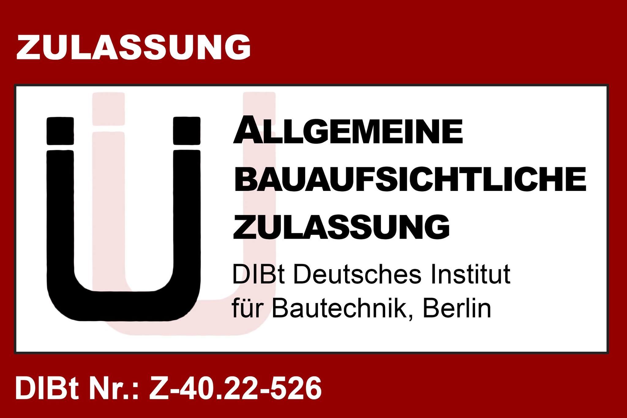 Allgemeine-Zulassung-Z-40-22-526