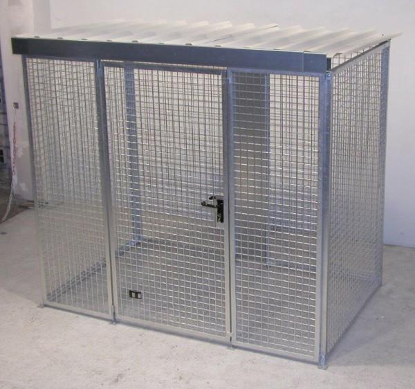 Gasflaschen-Container Typ GFC-M-3-D für max. 60 Gasflaschen