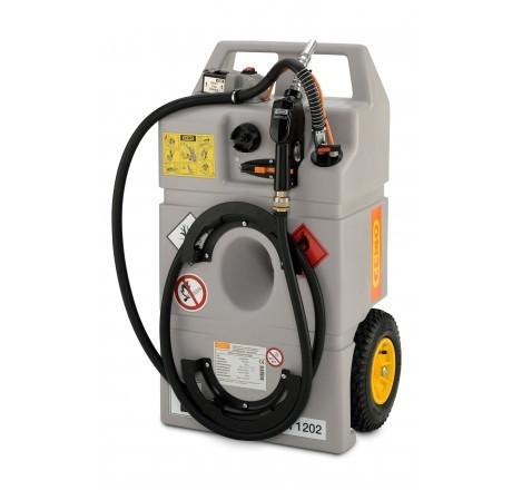 Dieseltrolley 100 Liter mit Elektropumpe, Akku und Automatik-Zapfpistole
