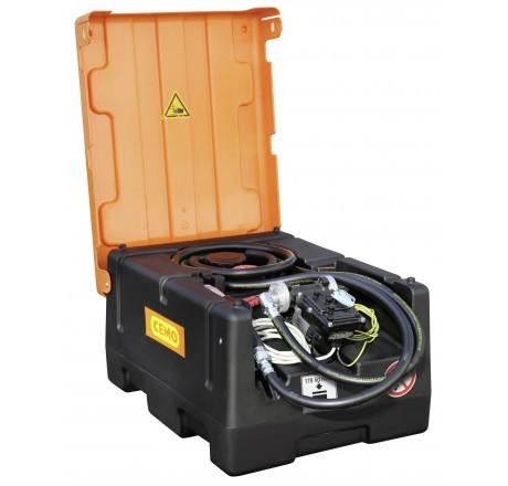 KS-Mobil Easy 120-Liter mit Elektropumpe, ATEX, Automatik-Zapfpistole und Klappdeckel