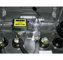 Handpumpe für Diesel und Biodiesel mit Zählwerk