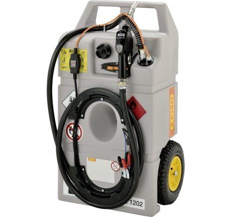 Dieseltrolley 100 Liter mit Elektropumpe und Automatik-Zapfpistole