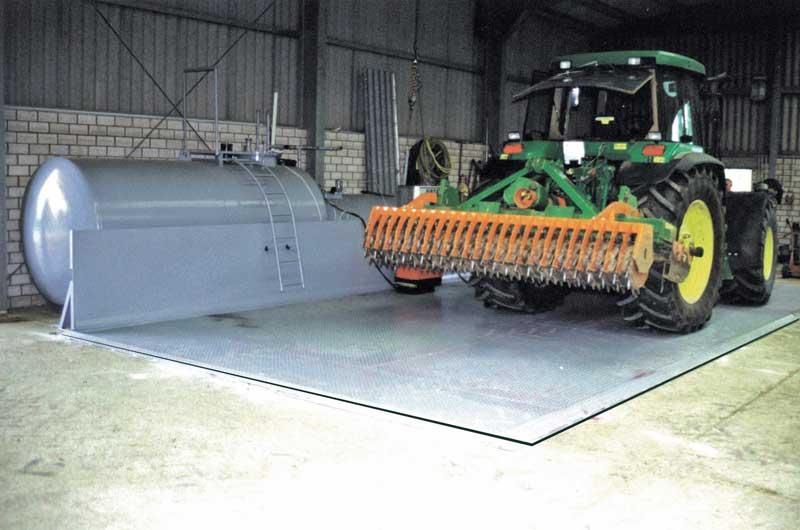 Diesel-Abfüllplatz TAW-3 für Eigenverbrauchs-Tankanlagen