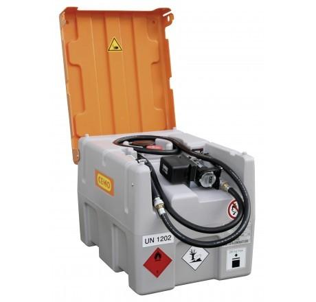 DT-Mobil Easy 430-Liter mit Elektropumpe und Li-lon Akkusystem, Automatik-Zapfpistole und Klappdeckel