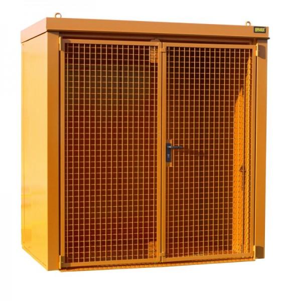 Gasflaschen-Container Typ GFC-B-M1 - gelborange RAL 2000