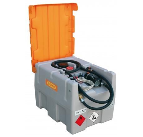 DT-Mobil Easy 200-Liter mit Elektropumpe, Automatik-Zapfpistole und Klappdeckel