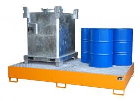 Stahl-Auffangwanne TYP AW-1000-10F