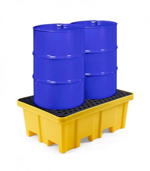 PE-Auffangwanne RPW-2 für 2 x 200 Liter Fässer